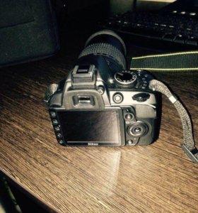 Зеркалка Nikon D3100 18-105 VR KIT