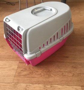 Контейнер для перевозки собак и кошек до 5 кг