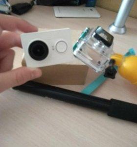 Xiaomi Yi Action Camera +доп аксессуары