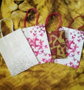 Пакеты подарочные от avon
