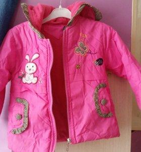 Куртка на девочку весна осень