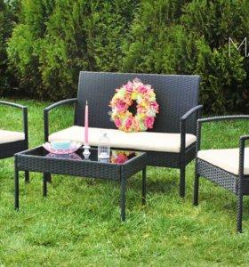 Садовая мебель техноротанг