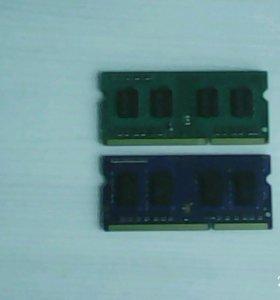 DDR3 - 1GB 2шт