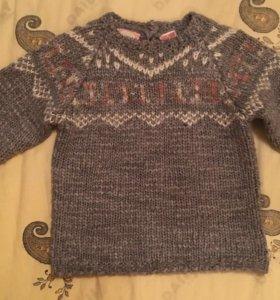Жаккардовый свитер Zara