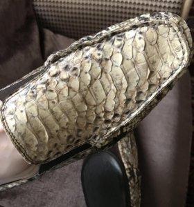 Шикарные мужские туфли Альберто Гуардиани! Италия