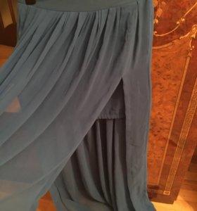Шифоновая юбка waggon