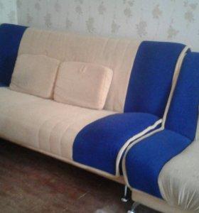 Диван,и 2 кресла