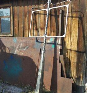 кованные изделия оградки