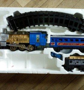 """Железная дорога """"Мой первый поезд""""."""