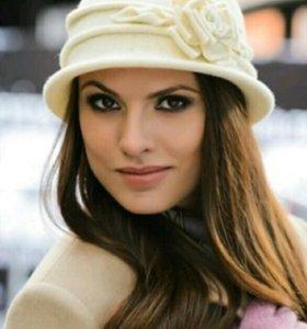 Романтичная шляпка