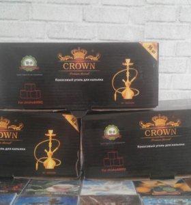 Кокосовый уголь Panda, Crown
