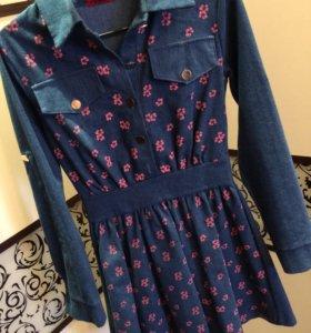 Платье 👗 джинсовое