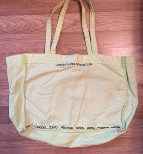 Новая пляжная сумка Benetton