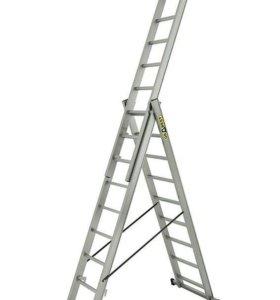 Лестница стремянка 3х9