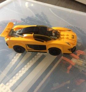 Лего авто гоночная