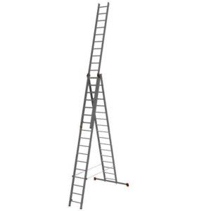 Лестница трехсекционная профессиональная 3 Х17 НВ