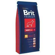 Корм Brit adult L 18кг