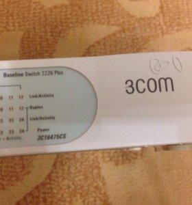 Сетевой коммутатор, свитч 3COM 3C16475CS