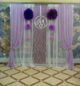 Декорация на свадьбу