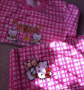 Пижама рост 134