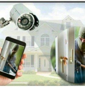 Установка камер , онлайн видеонаблюдение