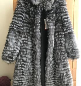 Пальто меховое Чернобурка