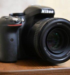 Nikon D5300 50mm f1.8g идеал