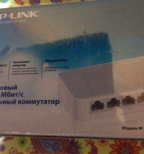 Коммутатор TP LINK TL SF1005 D
