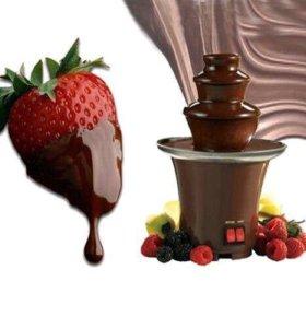 Шоколадный фондю фонтан
