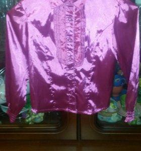 Нарядная блузка на рост 110