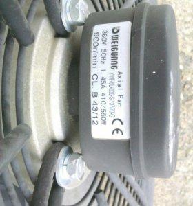 Вентилятор 3х фазный.