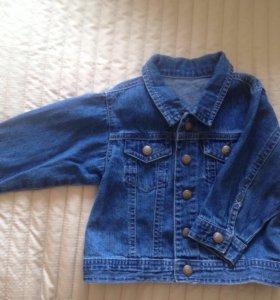 Куртка джинсовая 74рр