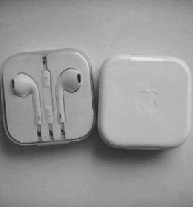 100% ОРИГИНАЛ!!!Наушники Apple EarPods