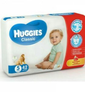 Подгузники Huggies classic 5