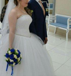 Свадебное платье. ТОРГ+подарок