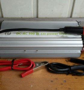Авто-инвертор 12/220 Emergence EG-PWC-003