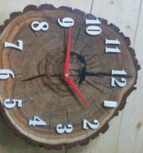 Часы с бивнем мамонта