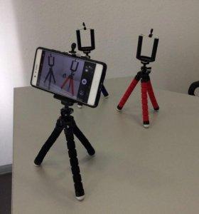 Гибкий штатив для телефона или фотоаппарата новый