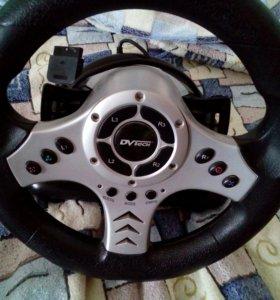 Компьютерный руль и педали для ПК и Xbox