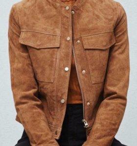 Распродажа!!!Куртка mango из натуральной замши