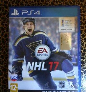 Диск PS4 NHL 17