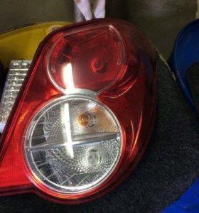 Задние фонари Chevrolet Aveo