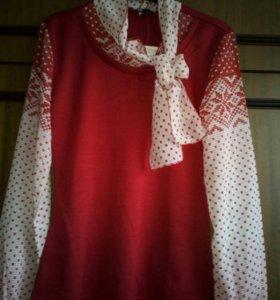 Блузка новая стильная 46 размер