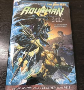 AQUAMAN vol.3 THRONE OF ATLANTIS комикс THE NEW 52