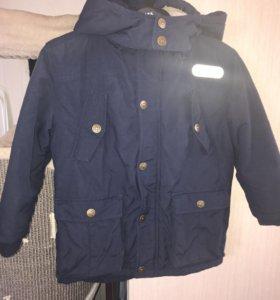 Куртка на мальчика тёплая