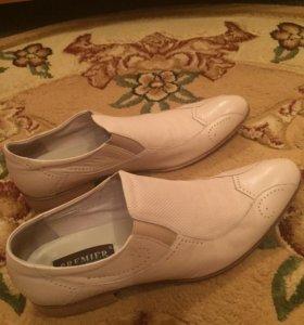 Туфли кожаные 44 размера!!!