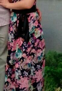 Платье одето было 1раз
