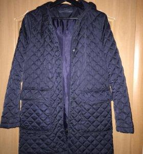 Стеганое пальто Zara