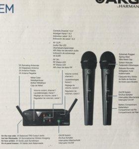 Радиомикрофоны AKG VMS 40 dual vocal set