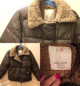 Куртка Zara на мальчика